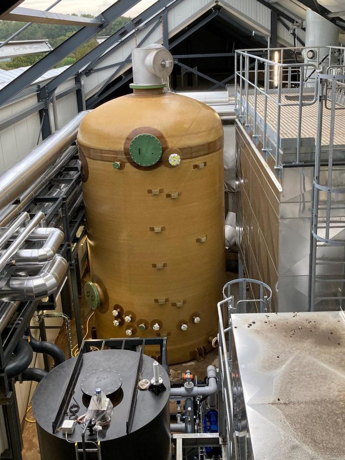 flue gas condenser