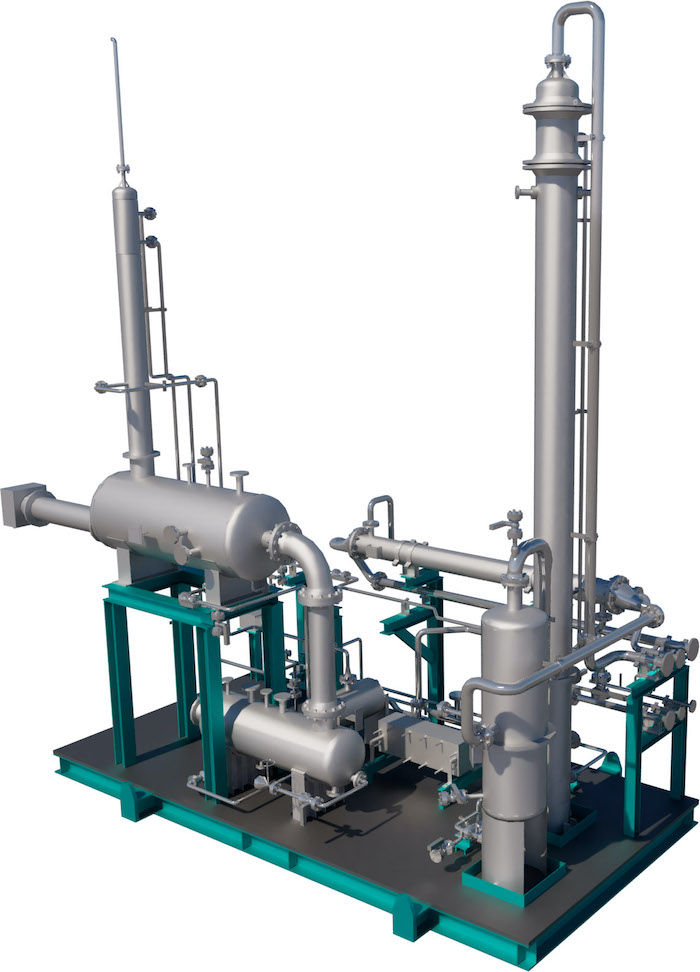 CO2 removal skid-1