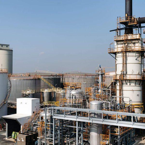 Laminol biogas upgrade